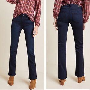 Paige Manhattan mid rise slim boot cut jeans sz 31
